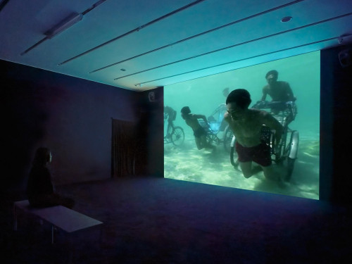"""Jun Nguyen-Hatsushiba, """"Memorial Project Nga Trang, Vietnam: Towards the Complex For the Courageous, the Curious and the Cowards"""" (2001)."""